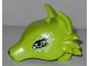 Part No: 35600pb01  Name: Fox Head with Eyes and White Swirls Pattern
