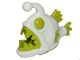 Part No: 67471pb01  Name: Anglerfish with Glow In The Dark White Pattern