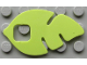 Part No: clikits144  Name: Clikits Flexy Film, Leaf 5 x 3 with Cutouts