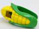 Part No: 29575pb01  Name: Minifigure, Headgear Head Cover, Costume Corn Cob Suit with Yellow Corn Kernels Pattern