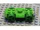 Part No: 30558c04  Name: Vehicle, Base 4 x 6 Racer Base with Green Wheels