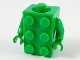 Part No: 37191c03  Name: Torso, 2 x 3 Brick Costume / Bright Green Arms / Bright Green Hands