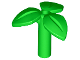 Part No: 37695  Name: Plant Stem with 3 Leaves and Bottom Pin