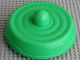 Part No: 49275c01  Name: Primo Stacking Base Round Large with Lime Base, One Top Stud