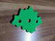 Part No: bb1090  Name: Foam Scala Bush 7 x 6 with 3 Holes #3148