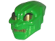 Part No: x225pb01  Name: Minifigure, Headgear Mask Green Goblin with Gold Eyes and Teeth Pattern