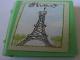 Part No: 33009pb006  Name: Minifigure, Utensil Book 2 x 3 with Eiffel Tower Pattern (Sticker) - Set 3290