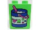 Part No: 4066pb285  Name: Duplo, Brick 1 x 2 x 2 with Laundry Pail with Clothes and Pink Scoop Pattern