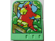 Part No: 43974  Name: Explore Storybuilder Jungle Jam Card with Red Parrot Pattern
