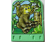 Part No: 43975  Name: Explore Storybuilder Jungle Jam Card with Monkey Pattern
