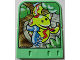 Part No: 43976  Name: Explore Storybuilder Jungle Jam Card with Snake Pattern