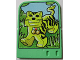 Part No: 43978  Name: Explore Storybuilder Jungle Jam Card with Tiger Pattern