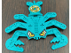 Part No: 32145pb01  Name: Technic Competition Target Scorpion with Yellow Eyes and Shooting Target Pattern (Stickers) - Set 8268