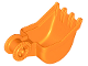 Part No: 21997  Name: Duplo Digger Bucket, Small with Locking Ring - 4 teeth