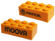 Part No: 3001pb136  Name: Brick 2 x 4 with 'PHYSICAL' Pattern (PlayDay 2018)