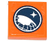 Part No: 3068bpb0857  Name: Tile 2 x 2 with Groove with Arctic Explorer Logo Pattern (Sticker) - Set 60036