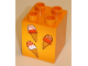 Part No: 31110pb033  Name: Duplo, Brick 2 x 2 x 2 with Three Ice Cream Cones Pattern