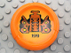 Part No: 32533pb199  Name: Bionicle Disk, 199 Disk of Time Pattern