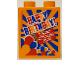 Part No: 4066pb471  Name: Duplo, Brick 1 x 2 x 2 with Happy Birthday! Legoland Deutschland Resort Orange Pattern