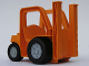 Part No: 42404c01  Name: Duplo Forklift Truck with Large and Small Black Wheels