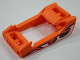 Part No: 49822pb01  Name: Technic, Panel RC Car Frame / Windscreen with Flame Pattern on Both Sides (Stickers) - Set 8676