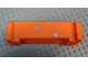 Part No: 52041pb007  Name: Crane Section 4 x 12 x 3 with 8 Pin Holes with 2 Bullet Holes Pattern (Stickers) - Set 7709