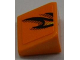 Part No: 54200pb029R  Name: Slope 30 1 x 1 x 2/3 with Flames Pattern Model Right Side (Sticker) - Set 8186