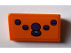 Part No: 85984pb192  Name: Slope 30 1 x 2 x 2/3 with 4 Dark Purple Buttons and Joystick Pattern (Sticker) - Set 71016