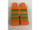 Part No: 970c00pb0549  Name: Hips and Legs with 3 Lime Stripes on Front and Sides Pattern