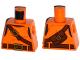 Part No: 973pb2370  Name: Torso Top with Belts, Bag on Back Pattern