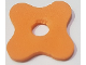 Part No: bb0910  Name: Foam, Scala Flower Medium 4 x 4 with 4 Petals and Hole