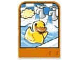 Part No: dupstr35  Name: Storybuilder Happy Home Card with Duck Pattern