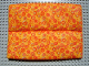 Part No: x1577cx1  Name: Scala Cloth Mattress with Middle Seam and Multicolor Circles Pattern