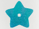 Part No: clikits298pb01  Name: Clikits, Icon Accent Foil Star 8 1/4 x 8 1/4 with Textured Iridescent Pattern
