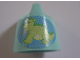 Part No: 33050pb02  Name: Scala Baby Potty with Dragon (Dinosaur) Pattern (Sticker) - Set 3112