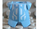 Part No: 2587pb02  Name: Minifigure, Armor Breastplate with Leg Protection, Jayko Geometric Pattern