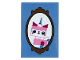 Part No: 26603pb028  Name: Tile 2 x 3 with Framed Unikitty Picture Pattern (Sticker) - Set 70831