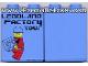 Part No: 4066pb301  Name: Duplo, Brick 1 x 2 x 2 with Legoland Factory Tour with Minifigure Holding Brick Pattern