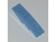 Part No: 61678pb061  Name: Slope, Curved 4 x 1 No Studs with Ornamental Starburst Pattern