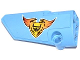 Part No: 64683pb007  Name: Technic, Panel Fairing # 3 Small Smooth Long, Side A with Emblem with 'UW' and 'TOOL SHOP' Pattern (Sticker) - Set 42022