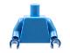 Part No: 973c40  Name: Torso Plain / Medium Blue Arms / Dark Blue Hands
