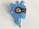 Part No: gal38  Name: Galidor Head Nepol, with 1 Pin with Medium Blue Head Bumps