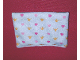 Part No: x1549pb01  Name: Duplo Cloth Mattress with Hearts and Crowns Pattern
