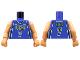 Part No: 973bpb133c01  Name: Torso NBA Milwaukee Bucks #7 Pattern / Flesh NBA Arms
