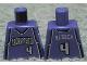 Part No: 973bpb143  Name: Torso NBA Sacramento Kings #4, 'WEBBER' on Back Pattern