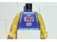 Part No: 973bpb180c01  Name: Torso NBA Player Number 5 Pattern / Yellow NBA Arms