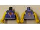 Part No: 973bpb225c01  Name: Torso NBA Player Number 1 Pattern / Yellow NBA Arms
