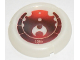 Part No: 32533pb116  Name: Bionicle Disk, 116 Ta-Metru Pattern