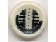 Part No: 32533pb663  Name: Bionicle Disk, 663 Onu-Metru Pattern