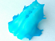 Part No: 57548pb02  Name: Bionicle Head, Barraki Carapar with Marbled Trans-Light Blue Pattern